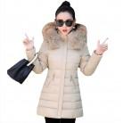 1980.73 руб. 51% СКИДКА|Женская зимняя куртка с хлопковой подкладкой, новый стиль, модное пальто с капюшоном и меховым воротником, повседневные маленькие и большие размеры, женские теплые парки, NZYDA1-in Парки from Женская одежда on Aliexpress.com | Alibaba Group