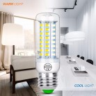 US $0.84 26% OFF|220V Led Corn Lamp E27 E14 Led Bulb Kitchen Chandelier Lighting 24 36 48 56 69 72LEDs Home Light SMD5730 Candle LED Light Bulb-in LED Bulbs & Tubes from Lights & Lighting on Aliexpress.com | Alibaba Group