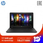 "Ноутбук HP 15-bs151ur 15.6"" HD/i3-5005U/4Gb/500Gb/noDVD/DOS черный (3XY37EA)"