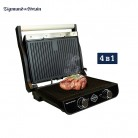 Electric grill Zigmund & Shtain GrillMeister ZEG 925 grilling Household appliances for kitchen-in Electric Grills & Electric Griddles from Home Appliances on AliExpress