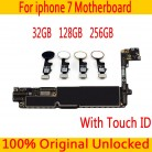 € 71.39 |La desbloqueado para iphone 7 Placa base con/sin Touch ID Original para iphone 7 placa base libre iCloud 32 GB 128 GB 256GB en Teléfono Móvil de la antena de Teléfonos y Telecomunicaciones en AliExpress.com | Alibaba Group