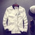 755.28 руб. 35% СКИДКА|Новая куртка бомбер мужская пилот с алфавитом дизайн тонкий пилот куртка бомбер мужская ветровка Куртка бомбер армейский зеленый черный серый белый купить на AliExpress