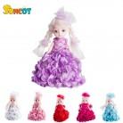 644.67 руб. 50% СКИДКА|SONCOT куклы игрушки подвижные совместное тело принцесса девушка кукла свадебный дизайн платье одежда подарок для детей применение в купить на AliExpress