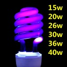 US $4.7 25% OFF DOZZIOR 220V E27 15 40W UV Ultraviolet Fluorescent CFL Light Bulb Spiral Enegy Saving Black Light Violet Lamps Lighting-in Ultraviolet Lamps from Lights & Lighting on Aliexpress.com   Alibaba Group