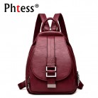 US $19.19 44% OFF|2019 Women Leather Backpacks Vintage Female Shoulder Bag Sac a Dos Travel Ladies Bagpack Mochilas School Bags For Girls Preppy-in Backpacks from Luggage & Bags on Aliexpress.com | Alibaba Group