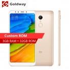 8241.49 руб. |Оригинальный Xiaomi Redmi 5 мобильный телефон 3 ГБ оперативная память 32 Встроенная Snapdragon 450 Octa Core 3300 мАч 12.0MP камера 5,7