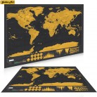 € 1.26 |Livraison directe carte à gratter carte à gratter carte de luxe personnalisé marque voyage salon carte du monde affiche Sticker mural 42x30 cm-in Stickers muraux from Maison & Jardin on Aliexpress.com | Alibaba Group
