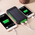 474.34 руб. 15% СКИДКА|20000 мАч солнечный power Bank Внешний аккумулятор резервный повербанк водостойкий двойной USB телефон power Bank светодио дный свет Pover Bank купить на AliExpress