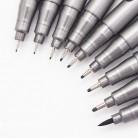 49.07 руб. 36% СКИДКА|1 шт пигмент лайнер Pigma Micron чернила маркер для белой доски 0,05 0,1 0,2 0,3 0,4 0,5 0,6 0,8 различных наконечников, черная ручка эскизов ручки-in Маркеры для рисования from Офисные и школьные принадлежности on Aliexpress.com | Alibaba Group