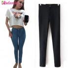 745.07 руб. 25% СКИДКА|Горячая распродажа весна карандаш узкие джинсы женщина мода высокой талией джинсы растянуть карандаш женские брюки джинсы леди брюки высокое качество-in Джинсы from Женская одежда on Aliexpress.com | Alibaba Group