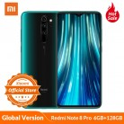 Global Version Xiaomi Redmi Note 8 Pro smartphone 6GB 64GB 128GB  MTK Heilo G90T Mobile Phone 64MP Quad camera NFC 18W charge