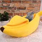 Snailhouse милый креативный домик в форме банана для кошек теплые домашние животные Щенок банан Подушка Питомник портативный коврик для домашни...