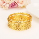 € 2.63 |Bangrui nuevo temperamento OL moda oro colores indios brazaletes conjunto moda Simple brazalete B-in Brazaletes from Joyería y accesorios on Aliexpress.com | Alibaba Group