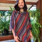 Festival Poncho // Mens Poncho  // Poncho Men // Womens Poncho // Music Festival Clothes // Festival Clothing // Festival Clothing