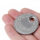 107.28 руб. 37% СКИДКА|Свеча зажигания измеритель зазора инструмент измерения монета тип 0,6 2,4 мм Диапазон Свеча зажигания Gage-in Шаблоны from Орудия on Aliexpress.com | Alibaba Group