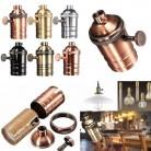 194.94 руб. 10% СКИДКА E26 E27 ретро старинный античный Эдисон медный светильник гнездо для патрона лампы-in Основания лампы from Лампы и освещение on Aliexpress.com   Alibaba Group