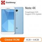 8895.63 руб. |Оригинальный Xiaomi Redmi Note 4X4 ГБ ОЗУ 64 Гб ПЗУ мобильный телефон Snapdragon 625 Восьмиядерный 5,5