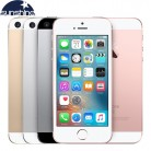 8567.25 руб. 38% СКИДКА|Оригинальный разблокированный Apple iPhone SE 4 аппарат не привязан к оператору сотовой связи для мобильных телефонов на базе iOS Touch ID чип A9 двухъядерный процессор, 2G Оперативная память 16 GB/64 GB Встроенная память 4,0