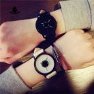 US $4.2 66% OFF|Hot fashion creative watches women men quartz watch BGG brand unique dial design minimalist lovers' watch leather wristwatches-in Women's Watches from Watches on Aliexpress.com | Alibaba Group