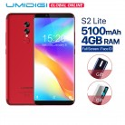 11535.46 руб. |UMIDIGI S2 Lite 18:9 полный Экран Android 7,0 смартфон Face ID 5100 мАч 4G B 32 ГБ 16MP двойной Камера 4G LTE touch ID мобильного телефона купить на AliExpress