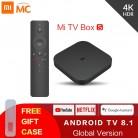Оригинальный Глобальный Xiaomi Mi ТВ коробка S 4 к HDR Android ТВ 8,1 Ultra HD 2 г 8 г wifi Google Cast Netflix IP ТВ приставка 4 медиаплеер купить на AliExpress