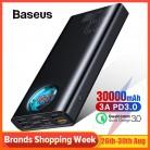 2630.1 руб. 42% СКИДКА|Baseus 30000mAh power Bank USB C PD 3,0 Быстрая зарядка + быстрая зарядка 3,0 Портативный внешний аккумулятор для ноутбука samsung power bank-in Внешний аккумулятор from Мобильные телефоны и телекоммуникации on Aliexpress.com | Alibaba Group