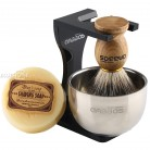 US $18.39 20% OFF|Anbbas Barber Shaving Brush Badger Hair+Black Acrylic Stand+bowl+Soap Set-in Shaving Brush from Beauty & Health on AliExpress - 11.11_Double 11_Singles' Day