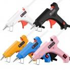 Mini Hot Glue Gun 30W High Temperature Glue Gun for DIY Crafts, Projects, Fast Home Repairs Creative Arts, with 6pcs Glue Sticks
