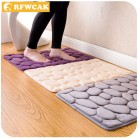 US $5.97 5% OFF|RFWCAK Coral Fleece Bathroom Memory Foam Rug Kit Toilet Pattern Bath Non slip Mats Floor Carpet Set Mattress for Bathroom Decor-in Bath Mats from Home & Garden on Aliexpress.com | Alibaba Group