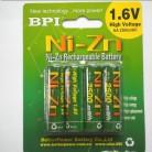 709.37 руб. |4 шт./лот оригинальный BPI AA 2500mWh 1,6 V 1,5 V NI батареи zn батареи зарядки-in Подзаряжаемые батареи from Бытовая электроника on Aliexpress.com | Alibaba Group