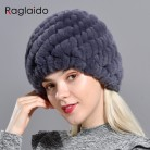US $5.4 41% OFF|Raglaido Rabbit winter fur hat for Women Russian Real Fur Knitted Cap headgea Winter Warm Beanie Hats 2019 fashion brand LQ11279-in Women's Skullies & Beanies from Apparel Accessories on Aliexpress.com | Alibaba Group