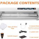1366.5 руб. 45% СКИДКА|LAIMENG вакуумная пищевая машина для упаковки герметика вакуумные пакеты для еды контейнер вакуумные упаковщик 110 V 220 V герметичная упаковка для упаковки S139-in Прибор для запечатывания пищи from Техника для дома on Aliexpress.com | Alibaba Group