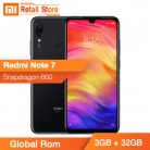 US $167.49 |Original Global Rom Xiaomi Redmi Note 7 Note7 3GB+32GB Cellphone 48.0+5.0MP Camera Snapdragon 660 Octa Core 6.3 Inch Full Screen-in Cellphones from Cellphones & Telecommunications on Aliexpress.com | Alibaba Group