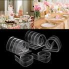 92.42 руб. 28% СКИДКА|Акция для 12 шт. держатель зажим вечерние для пикника дома пластиковая прозрачная скатерть для стола зажимы DU купить на AliExpress