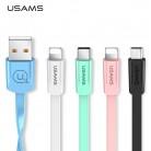 € 0.97 33% de réduction|USAMS USB Câble Type C Câble Micro USB Câble pour Samsung Xiaomi Huawei LG, charge USB Câble pour iPhone 8 7 6 6 S puls 5 5S SE dans Mobile Téléphone Câbles de Téléphones portables et Des Télécommunications sur AliExpress.com | Alibaba Group