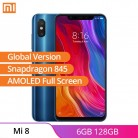 US $359.99 |France Stock Xiaomi 8 Mi 8 6GB RAM 128GB ROM Global Version Cell Phone 6.21