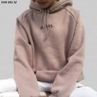 735.67 руб. 36% СКИДКА|OH YES/новые модные вельветовые пуловеры с длинными рукавами и буквенным принтом Harajuku светло розовые топы с круглым вырезом, Женская толстовка с капюшоном, топы-in Толстовки и кофты from Женская одежда on Aliexpress.com | Alibaba Group