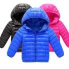 Новая хлопковая зимняя модная спортивная куртка и Верхняя одежда для мальчиков и девочек 3-11 лет, Детская куртка с хлопковой подкладкой, зим...