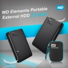 US $55.08 22% OFF|Western Digital WD Elements Portable HDD External hdd 1TB  2TB HDD 2.5