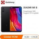 19361.84 руб. |Глобальная ПЗУ Xiaomi mi 8 mi 8 мобильный телефон 6 ГБ ОЗУ 128 Гб ПЗУ Snapdragon 845 Восьмиядерный 6,21