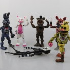 US $8.45 6% OFF|14.5 17cm PVC Five Nights At Freddy's Action Figure FNAF Bonnie Foxy Freddy Fazbear Bear Dolls Toys five nights at freddy-in Action & Toy Figures from Toys & Hobbies on Aliexpress.com | Alibaba Group
