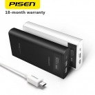 US $26.76 40% OFF|PISEN Power Bank 20000mAh Dual USB Portable LCD Powerbank External Battery Charger Pack for Mobile Phones-in Power Bank from Cellphones & Telecommunications on Aliexpress.com | Alibaba Group