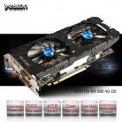 15646.63 руб. |Yeston Radeon RX 580 GPU 4 Гб GDDR5 256bit игровой настольный компьютер ПК видео Графика карты Поддержка сигнала от DVI/HDMI PCI E X16 3,0 купить на AliExpress