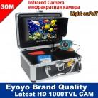 6185.11 руб. 36% СКИДКА|Eyoyo оригинал 30м 1000TVL  камера рыбоискатель подводная рыбалка видеокамера 7