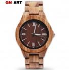 1190.94 руб. 55% СКИДКА|GNART для мужчин S деревянные часы relogio masculino de luxo montre homme для мужчин деревянные часы для мужчин сувенир для мужчин Роскошные наручные часы купить на AliExpress