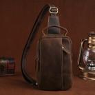 1849.36 руб. 33% СКИДКА|100% натуральная Crazy Horse кожаная мужская сумка на лямках на груди, Повседневная винтажная сумка через плечо из воловьей кожи on Aliexpress.com | Alibaba Group