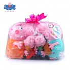 US $14.98 35% OFF|Original Brand 4Pcs/set Peppa Pig Stuffed Plush Toy 19/30cm Peppa George Pig Family Party Dolls Christmas New Year Gift For Girl-in Movies & TV from Toys & Hobbies on Aliexpress.com | Alibaba Group