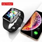 988.41 руб. |Умные часы Smartwatch Bluetooth наручные спортивные часы sim телефон камера наручные часы для Apple iPhone Android samsung Роскошные для мужчин-in Смарт-часы from Бытовая электроника on Aliexpress.com | Alibaba Group