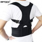 Aptoco Корректор осанки для магнитной терапии, поддерживающий пояс на плече и спине для брекетов и поддерживающий ремень для осанки плеч, в нал...