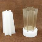 877.1 руб. 8% СКИДКА|DIY шестиугольника дизайн свечей свечи, высокая термостойкость свечи формы для мастеров купить на AliExpress